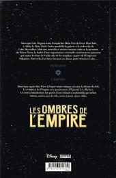 Verso de Star Wars - Les ombres de l'Empire -INT- Intégrale