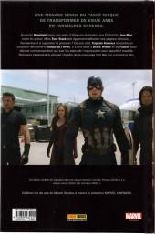 Verso de Marvel Cinematic Universe  -7- Captain America : Civil War - Prélude