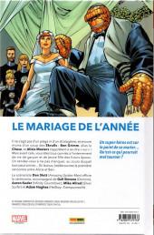 Verso de Fantastic Four (100% Marvel - 2019) -2- M. et Mme Grimm