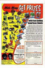 Verso de Ghost Rider Vol 2 (Marvel - 1973) -6- The Menace of the Second Zodiac!