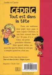 Verso de Cédric (Bibliothèque rose) -81428- La grande course