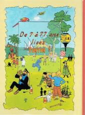 Verso de (AUT) Hergé -162a- Tintin a-t-il été au Tibet ?
