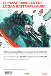 Verso de All-New Wolverine (Marvel Legacy) -1- Nés sous X