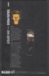 Verso de Doom Patrol (Gerard Way présente) -1- Volume 1