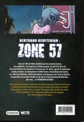 Verso de Les aventures de Bertrand Keufterian (WEBellipses) -INT2- Bertrand Keufterian : Zone 57