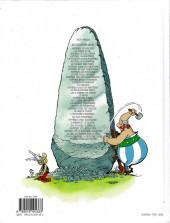 Verso de Astérix (Hachette) -1d2015- Astérix le Gaulois