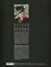 Verso de Batman : Damned