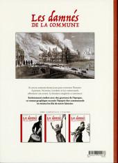 Verso de Les damnés de la Commune -3- Les orphelins de l'histoire