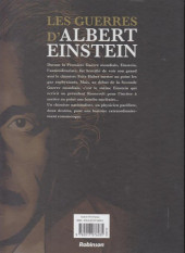 Verso de Les guerres d'Albert Einstein -1- Les guerres d'Albert Einstein 1/2