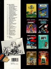 Verso de Spirou et Fantasio -37a1989- Le réveil du Z