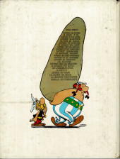 Verso de Astérix -10b1977- Astérix légionnaire
