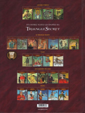 Verso de Le triangle secret - Lacrima Christi -5- Le message de l'alchimiste