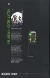 Verso de Hal Jordan : Green lantern -1- Shérif de l'espace