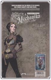Verso de Lady Mechanika -6- La Belle dame sans merci