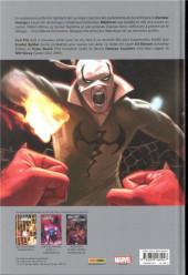 Verso de Iron Fist & Scarlet Spider - Damnation (III)