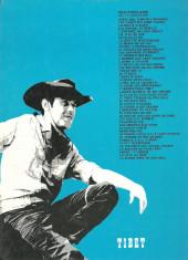 Verso de Chick Bill -332b1983- Le cow-boy de fer