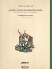 Verso de Spirou et Fantasio par... (Une aventure de) / Le Spirou de... -15NB- L'Espoir malgré tout - Deuxième partie - Un peu plus loin vers l'horreur