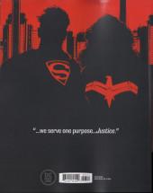 Verso de Superman Year One -3- Book Three