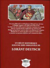 Verso de Les fauves -1- Richard Cœur de Lion