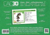 Verso de (DOC) CAC3D -16- CAC3D - Gaston & Cie - 1re édition