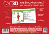 Verso de (DOC) CAC3D -20- CAC3D - Spirou & Cie - 1re édition