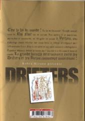Verso de Drifters -6- Tome 6