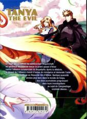 Verso de Tanya The Evil -9- Tome 9
