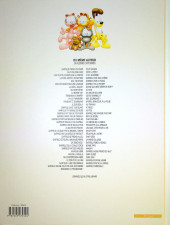 Verso de Garfield -69- Garfield gribouille