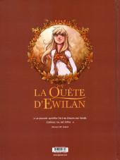 Verso de La quête d'Ewilan -7- L'île du destin