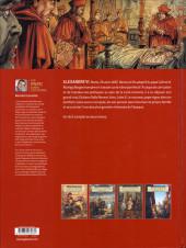 Verso de Un pape dans l'histoire -4- Alexandre VI - Le règne des Borgia 1/2