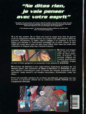 Verso de Le shadow -HS- The Shadow - La BD du film