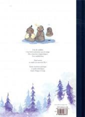Verso de Entre Neige et Loup