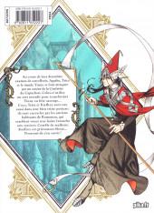 Verso de L'atelier des sorciers -5- Volume 5