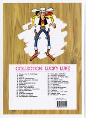 Verso de Lucky Luke -24g2011- La caravane