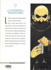 Verso de Les chemins de Malefosse -2c- L'attentement