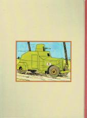 Verso de (AUT) Hergé - L'affaire de la Mandchourie