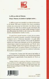 Verso de (DOC) Études et essais divers - La BD au crible de l'Histoire