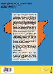 Verso de Visions d'Afrique