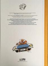 Verso de Spirou et Fantasio -36TT- L'horloger de la comète