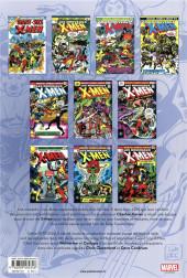 Verso de X-Men (L'intégrale) -1c2019- 1975-1976