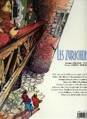 Verso de Les zurichois - Les Zurichois