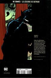 Verso de DC Comics - La légende de Batman -5680- Année 100