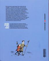 Verso de Histoire dessinée de la France -7- Croisades et cathédrales - d'Aliénor à Saint Louis
