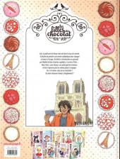Verso de Les filles au chocolat -10- Cœur piment