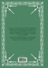 Verso de Les chroniques de Braven Oc - Recueil - tomes 1 à 4