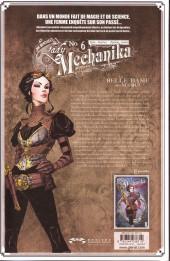 Verso de Lady Mechanika -6TLb- La belle dame sans merci