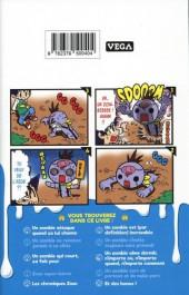 Verso de Zozo Zombie -1- Vol. 1