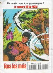 Verso de Capt'ain Swing! (2e série - Mon Journal) -43- Le traitre sans visage