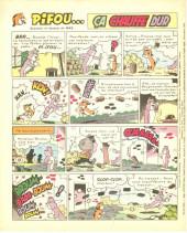 Verso de Vaillant (le journal le plus captivant) -1222- Vaillant