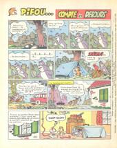 Verso de Vaillant (le journal le plus captivant) -1221- Vaillant
